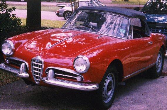 Alfa romeo giulietta sprint veloce 1956 for sale 11